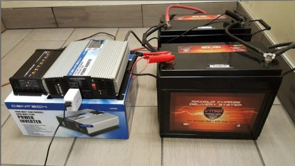 charging from deep cycle battery