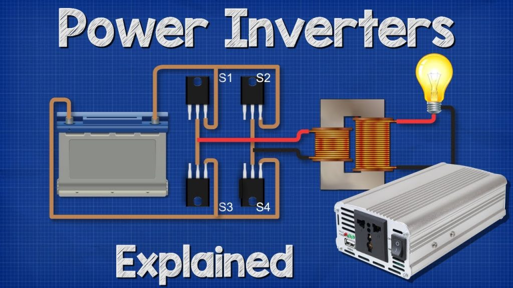 How does a power inverter work