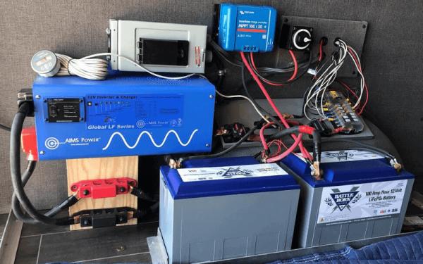 best battery for power inverter