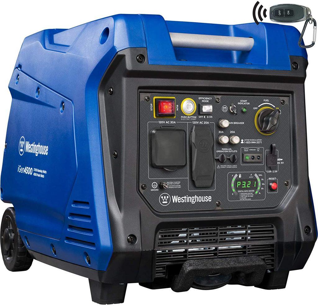 Westinghouse iGen4500 Super Quiet Portable Inverter Generator
