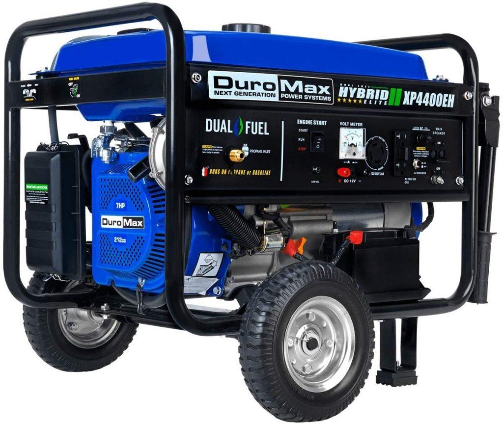 DuroMax XP4400EH Dual Fuel Portable Generator